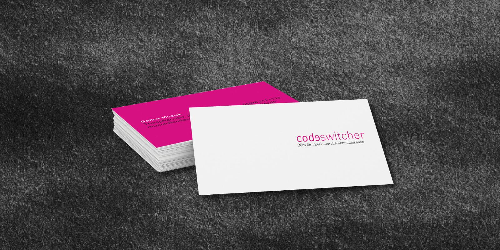 codeswitcher Büro für interkulturelle Kommunikation aus Köln | Woestmann Design | woestmanndesign.de