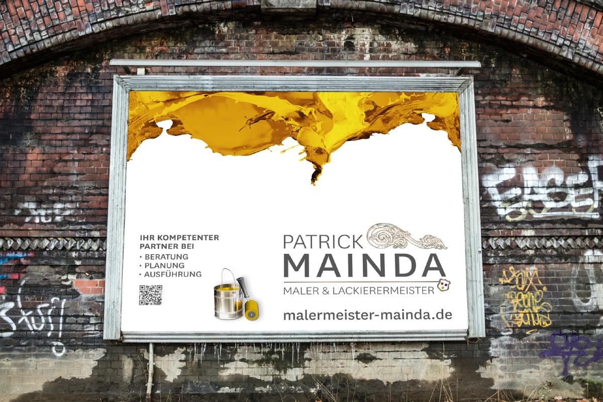 Malermeister Patrick Mainda aus Oberhausen | Woestmann Design | woestmanndesign.de
