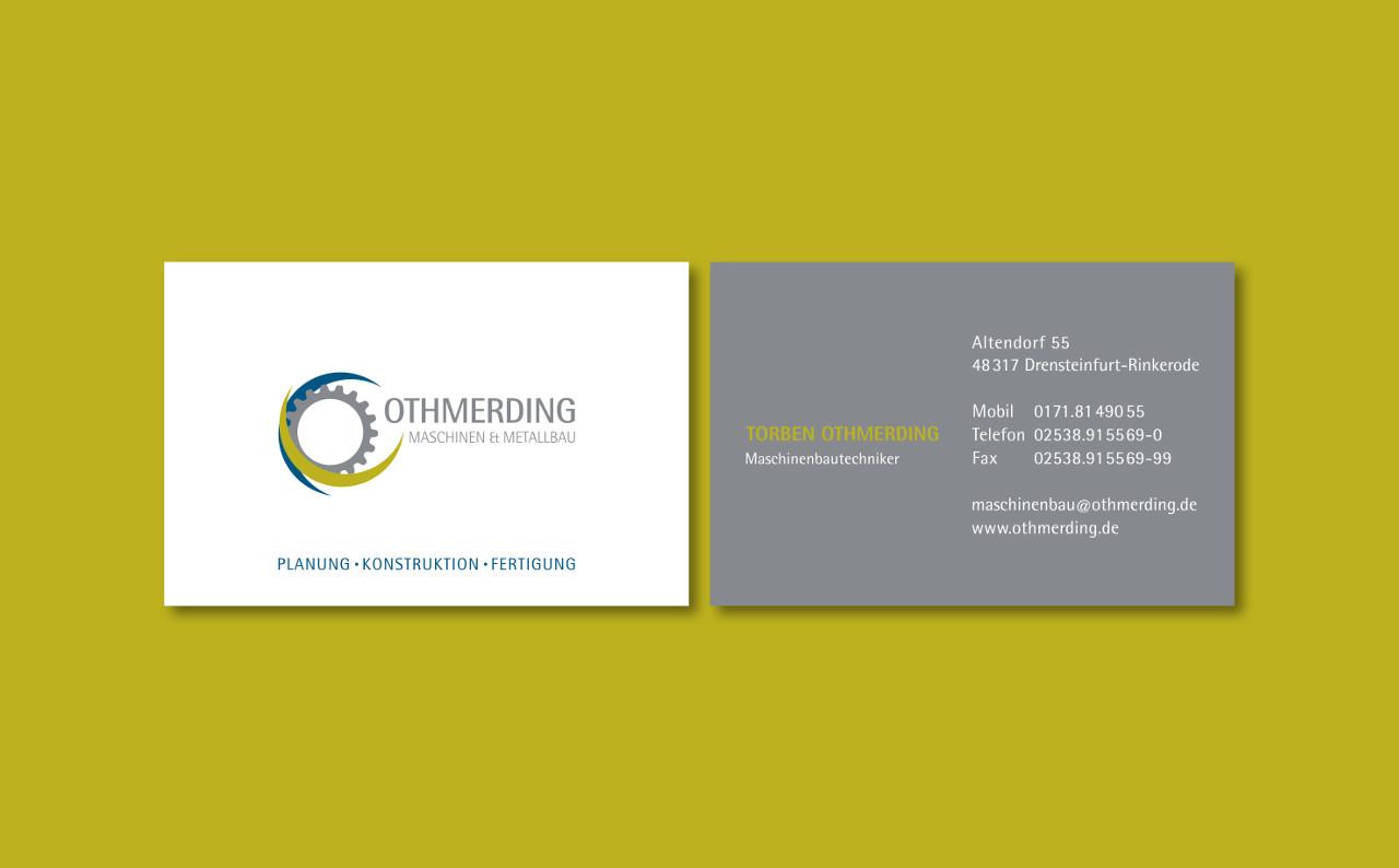 Othmerding Maschinen & Metallbau aus Drensteinfurt | Woestmann Design | woestmanndesign.de